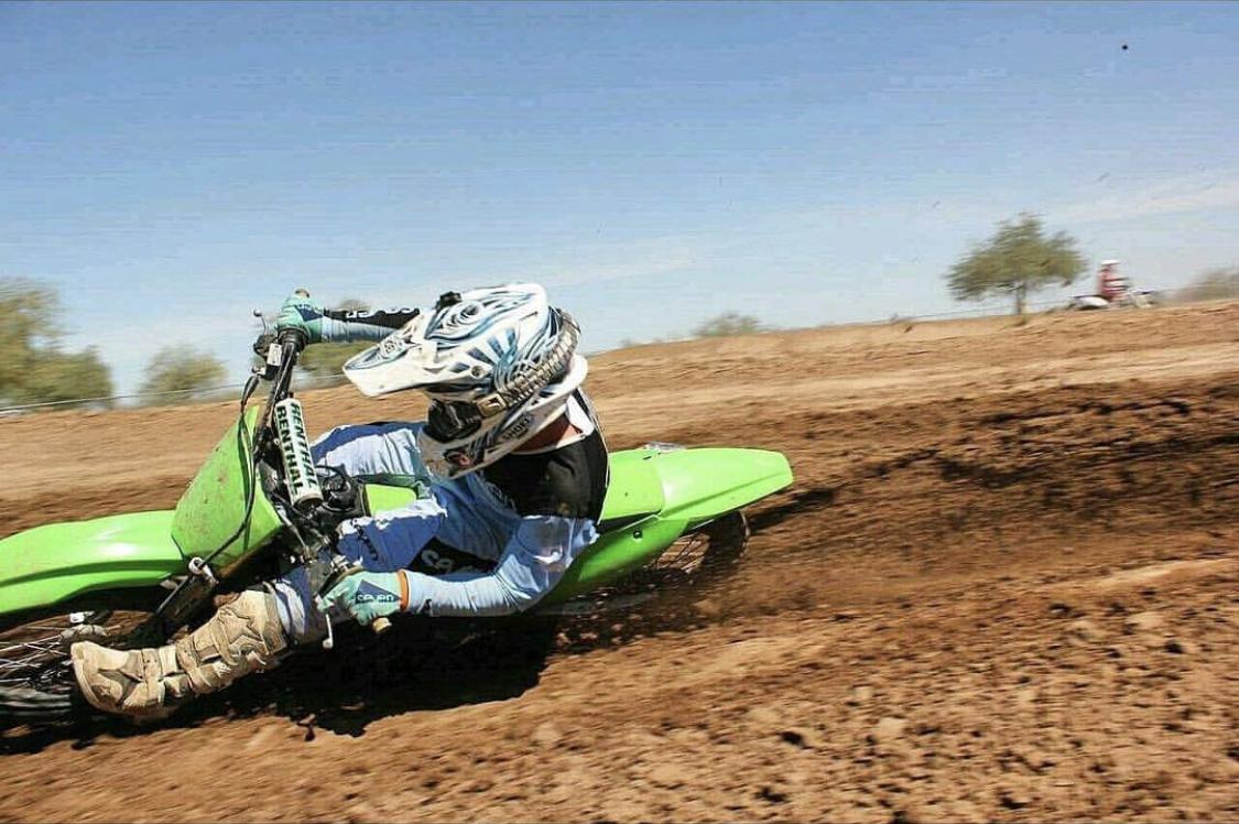 2011 Kawasaki KX250F with JBI Suspension Pro Shock in action at Motoland